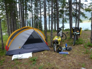 Spray Lakes Campsite