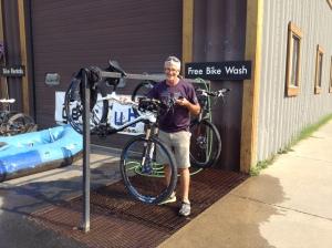 Free Bike Wash