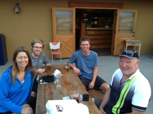 Denise, Bob and fellow Divide Riders