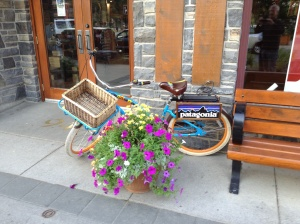 Bike friendly Banff